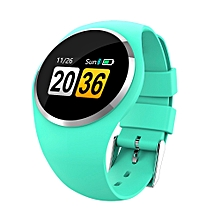Q1 1.0 inch TFT LCD Color Screen Smart Bracelet IP67 Waterproof, Support Call Reminder /Heart Rate Monitoring /Blood Pressure Monitoring /Blood oxygen monitoring /Sleep Monitoring /Pedometer(Green)