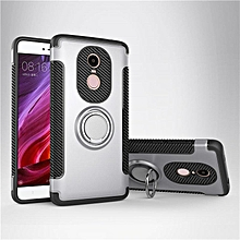 KZ Slim Fit Hybrid Dual Layer Armor Shock Absorption Rugged Defender with Ring Holder Kickstand Drop Protection Soft Rubber Bumper Case Cover for Xiaomi Redmi Note 4   XXZ-Z