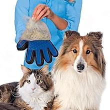 Pack Massage Gloves For Dog Cat Bath True Touch Effective Gentle