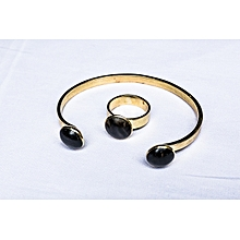 Bracelet - Gold and Black