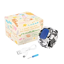 Kids Smart Wrist Watch Anti-lost Base Station SOS Call Realtime Monitor Multi-Color
