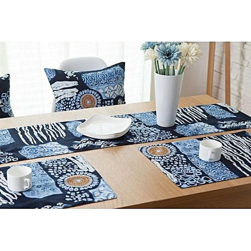 Cotton And Linen Double Sided Printed Table Mats Creative Table Placemats  Bowls And Insulation Pad
