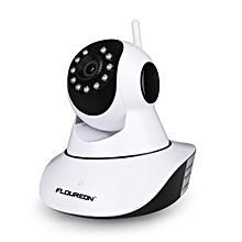 720P Wifi 1.0 Megapixel Wireless CCTV Security IP Camera EU - White