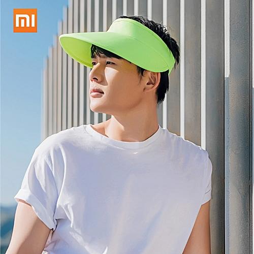 7325166ac6e Xiaomi UREVO Anti UV Caps Outdoor Sun Visor Summer Foldable Sun Hat Sunvisor  Party Unisex Sport Camping Hiking Motor Peak Cap Bicycle Golf Hat
