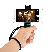 Handheld Grip Rig Stabilizer ABS Tripod Adapter Mount With Cold Shoe Base & Wrist Strap, For IPhone, Galaxy, Huawei, Xiaomi, Sony, HTC, Google And Other Smartphones