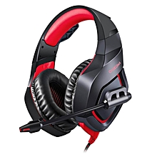 Gaming Headset for PS4 New Xbox one PC Mac Nintendo DS PSP ONIKUMA Over Ear 3.5mm Headphones with Mic Noise Isolating Deep Bass Surround for PUBG Game -Camouflage JY-M