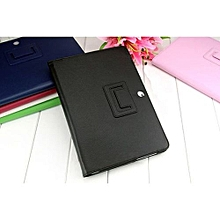 Leather Case Cover Stand For Samsung Galaxy Tab 2 10.1 P5100 P5110 BK