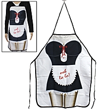 Maidservant Style Novelties Funny Cooking Apron Kitchen Apron Festival Creative Sexy Apron