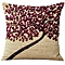 3D Oil Painting Effect Home Decorative Cotton Linen Throw Pillow Cover