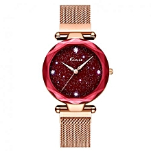 New Ladies Magnetic Bracelet Luxury Watch K6321M - Gold