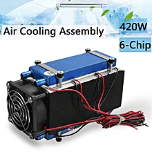 420W 6-Chip Semiconductor Refrigeration DIY Air Cooler Cooling Device Radiator