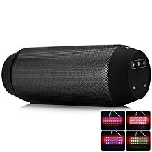 AEC BQ-615 Multi-function Wireless Bluetooth Sound Speaker Built-in FM Radio Support TF Card Input-BLACK
