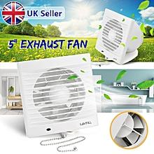 BABAN 5'' Wall Durable Ventilation Exhaust Fan Extractor Window Kitchen Bathroom
