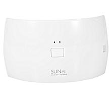 Professional Nail Art LED UV Gel Dryer Manicure Curing Lamp Tool(White)(SUN9C EU Plug)
