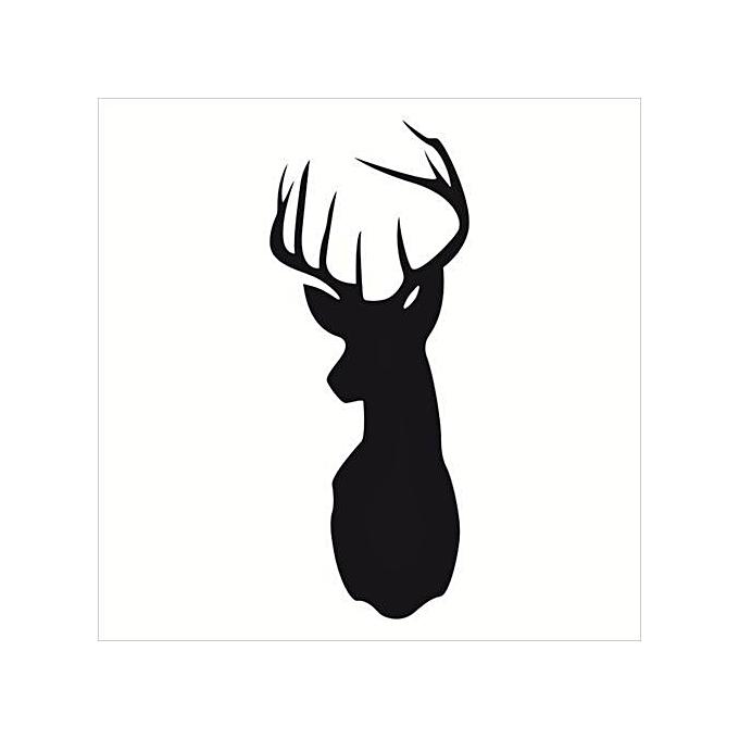 Buy UNIVERSAL Wall Cartoon Deer Wall Stickers Animal Wallpaper ...