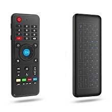 H1 2.4GHz Air Mouse Wireless Keyboard Remote Controller-Black