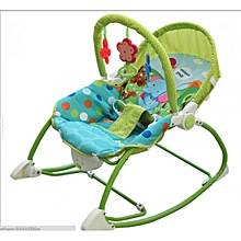 Superior Infant to Toddler Rocker/Bouncers ( 0+ months) - (Big Size) Green