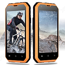 Unlocked Android 6.0 Rugged Smartphone Dual SIM Tough Mobile Phone 3G 4Core 16GB -Orange