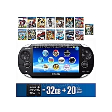 PS VITA - WIFI - Includes 32Gb Memory Card Plus 20 Latest Games Installed