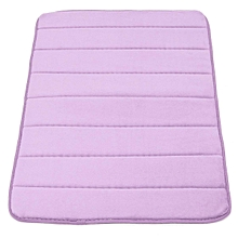 Memory Foam Bath Bathroom Bedroom Floor Shower Mat Rug Non-slip Water Absorbent Purple