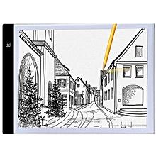 A4 Ultra-thin Portable LED Light Box USB Power Artcraft Tracing Light Pad