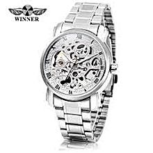 Silver Automatic men winner watch