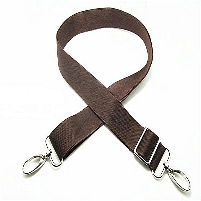 Replacement Adjule Shoulder Strap For Luggage Messenger Bag Accessories Coffee