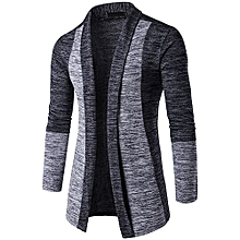 Men's Autumn Winter Sweater Cardigan Knit Knitwear Coat Jacket Sweatshirt