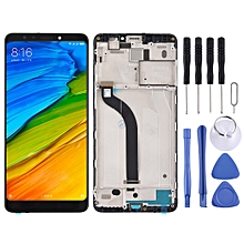 LCD Screen and Digitizer Fullembly with Frame for Xiaomi Redmi 5 (Black)