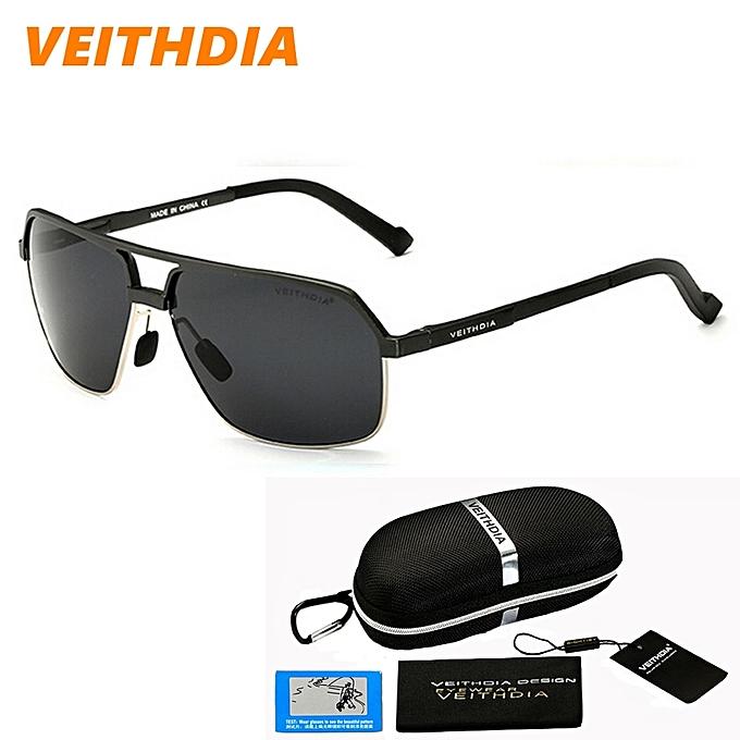8b8d60b91b VEITHDIA 2016 New Men Brand Designer Sport Driving Aluminum Magnesium  Polarized Sunglasses Glasses Goggles Eyeglasses Mirror ...