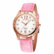 Women's Casual Fashion Quartz Watch(Pink)