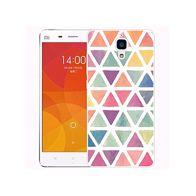 Soft Fit Tpu Phone Back Cover For Xiaomi Mi 4i 4c Dont Touch My Source · For XiaoMi Mi 4 5 0 Inch 3D Stereo Relief Flower Painted TPU Gel Soft Silicone