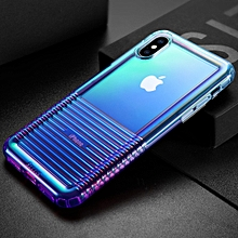Baseus Colorful Airbag Shockproof TPU Case for iPhone XS Max(Blue)