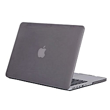 """15"""" Pro With HDMI Port Case, Crystal Hard Rubberized Cover For 2012-2015 Macbook 15.4 Retina, Grey"""
