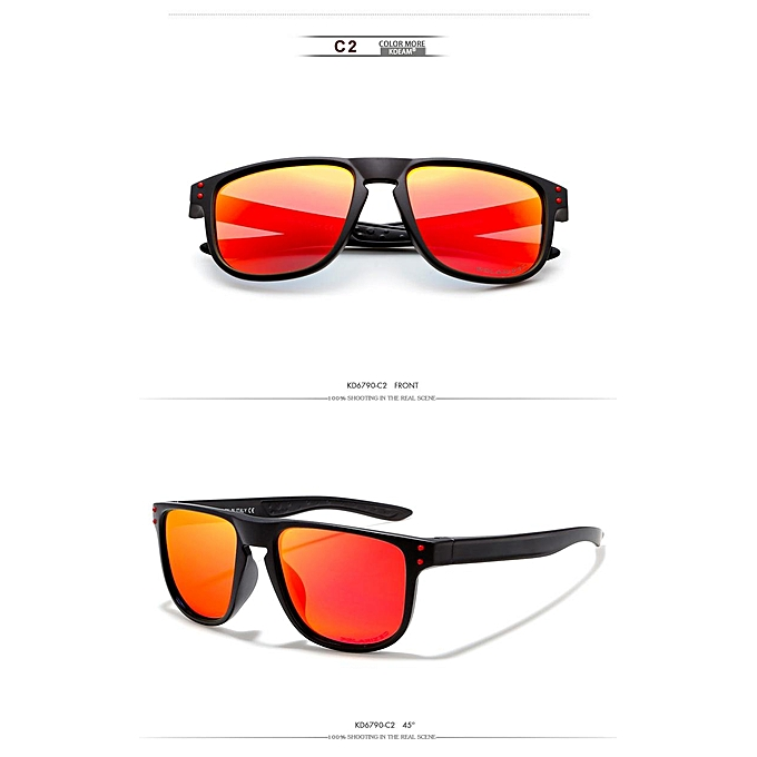 f8e2ece4553 KDEAM KD6790 UV400 Outdoor Sports Polarized Sunglasses Colorful Windproof  Eyewear Cycling Sunglasses