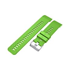 Replacement Wrist strap Silicagel Soft Band Strap For  Garmin Forerunner 35- Green