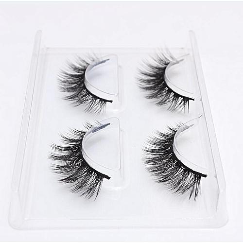 f4ff11bc07d Generic New 2/4/7 pairs natural false eyelashes fake lashes long makeup 3d  mink lashes eyeextension mink eyelashes for beauty 06(2 Pairs 764)