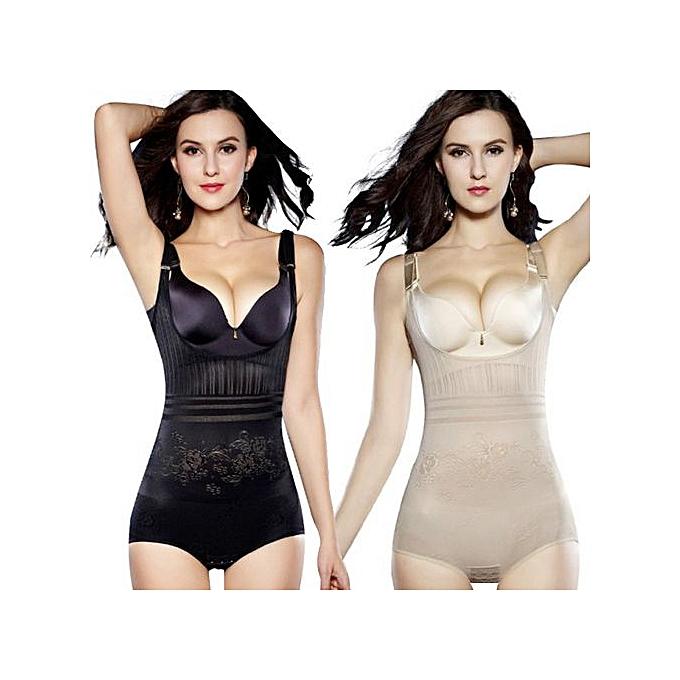 8a9520ba1133b Women Post Natal Postpartum Slimming Underwear Shaper Recover Bodysuits  Shapewear Waist Corset Girdle Black/Apricot