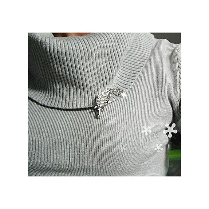 28ce4c355 ... New Retro Vintage Cute Beautiful Feather Leaf Mini Cute Brooch Pin