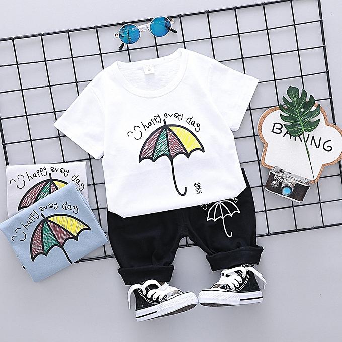 a87ae941c Boy's Clothing Summer vogue boy sportswear-Multicolour