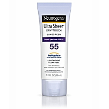 Ultra Sheer Dry-Touch Sunscreen SPF 55 - 88ml