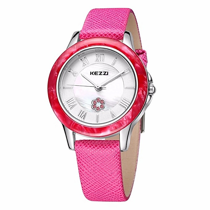 e05b41fabaa KEZZI Fashion Casual Women Watches High Quality Ladies Leather Wristwatch  Dames Horloges 30M Waterproof Relogio Feminino ...