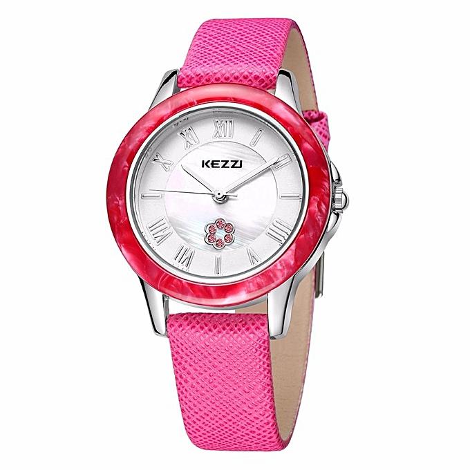 3f66d0ef81d KEZZI Fashion Casual Women Watches High Quality Ladies Leather Wristwatch  Dames Horloges 30M Waterproof Relogio Feminino ...
