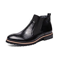 EUR Size 38-46 Men Chelsea Boots Ankle Boots Fashion High Quality England  Men   0a4322781baa