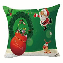Christmas  Pillow Case Sofa Waist Throw Cushion Cover Home Decor