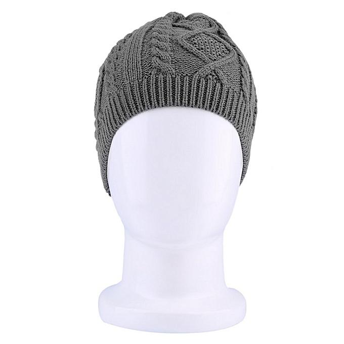 f5e1c923232 Fashion Women Warm Winter Beret Braided Baggy Beanie Knitted Crochet ...