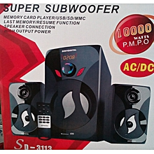 SUBWOOFER-SONYDIGITAL- SUPER SUBWOOFER-FM-USB-10000W P.M.P.O