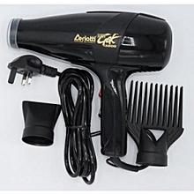 Super GEK 3000 Hairdryer - 1900W - Black