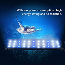 Aquarium LED Light Lighting Lamp Fish Tank Decoration Accessory(450mm, US Plug)