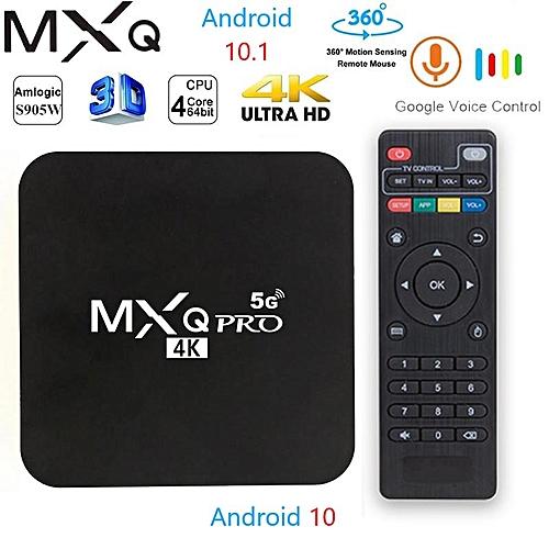Pro - Smart - 4K - Android 7 1 TV Box - Black